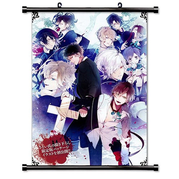 Fabric Wall Posters : Diabolik lovers anime fabric wall scroll poster
