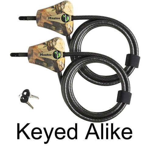 Master Lock - Python Trail Camera Adjustable Camouflage Cable Locks 8418KA-2 ... - Chickadee Solutions