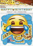 6ft Emoji Birthday Banner - Chickadee Solutions - 1
