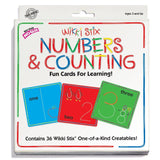 Wikki Stix Numbers and Counting Fun Cards for Learning - Chickadee Solutions - 1