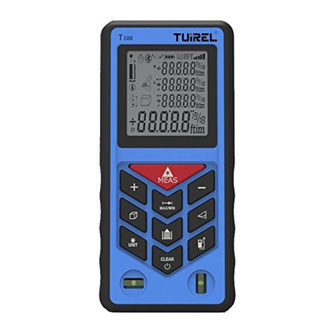 Laser Measure Tuirel T100 328ft Distance Measurering Tool with 100m Range and... - Chickadee Solutions - 1