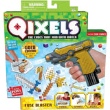 Qixels Fuse Blaster - Gold Edition with Metallic Cubes - Chickadee Solutions