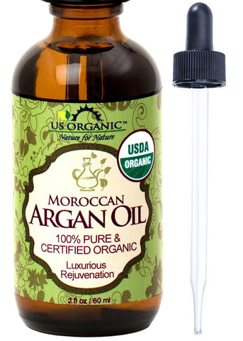 #1 Organic Moroccan Argan Oil USDA Certified Organic100% Pure & Natural Cold ... - Chickadee Solutions - 1