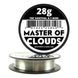 100 ft - 28 Gauge Kanthal A1 Resistance Wire AWG 100 Lengths - Chickadee Solutions - 1