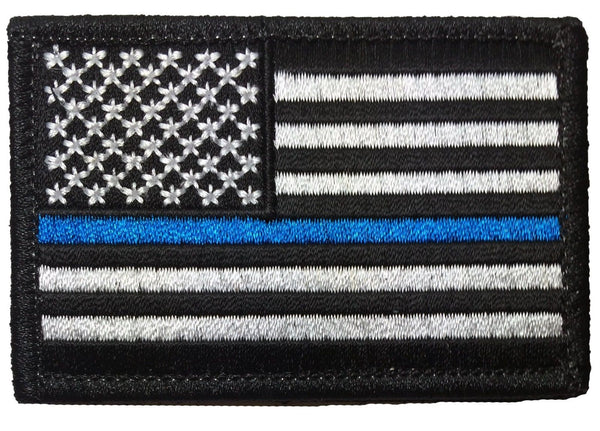 Tactical Usa Flag Police Law Enforcement Thin Blue Line ...