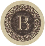 Thirstystone Monogram B Coasters - Chickadee Solutions