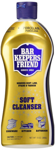 (2 Pack) Bar Keepers Friend Soft Cleanser for Stainless Steel / Porcelain / C... - Chickadee Solutions - 1