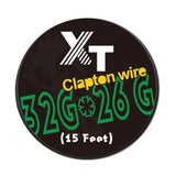 15 Feet Clapton Wire 32Gauge*26Gauge Resistance Wire Clapton Coil Wire - Chickadee Solutions - 1