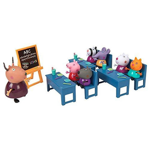 Peppa Pig Classroom Playset Toy - Chickadee Solutions