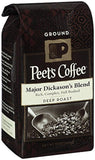 Peet's Ground Coffee Major Dickason's 12-Ounce 12 Ounce - Chickadee Solutions - 1