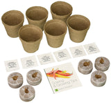 Plant Theatre Hot Chilli & Sweet Pepper Kit - 6 Different Varieties to Grow -... - Chickadee Solutions
