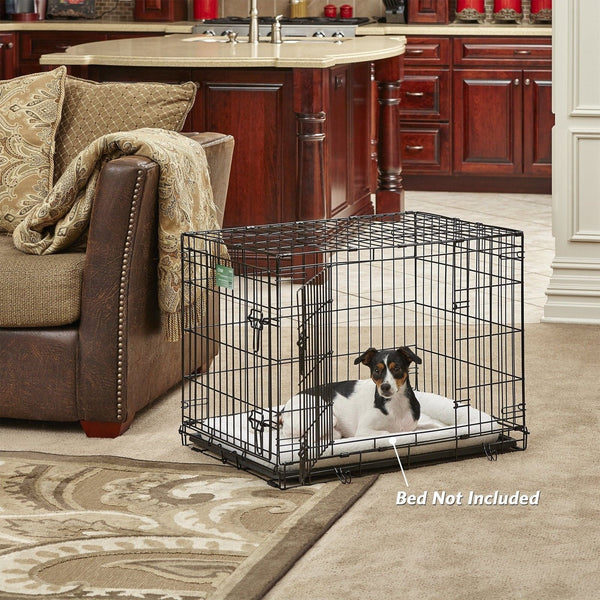 Midwest Icrate Folding Metal Dog Crate Double Door 30 Inch