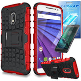Moto G Play / Moto G4 Play Grenade Combat Slim Fit Heavy Duty Kickstand Case ... - Chickadee Solutions - 1