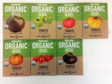 Organic Heirloom Tomato Garden Seeds - 7 Non-GMO Varieties: Cherokee Purple G... - Chickadee Solutions - 1