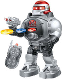 Thinkgizmos Remote Control Robot Fires Discs Dances Talks - Super Fun RC Robot - Chickadee Solutions - 1