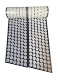 "5/8"" Diameter 700 Pcs(350 Pairs) White Round Dot Coin Straps Self Adhestive H... - Chickadee Solutions - 1"