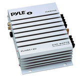PYLE PLMRA120 240-Watt 2-Channel Waterproof Marine/Car Amplifier 2 Channel - Chickadee Solutions