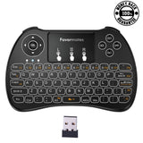 Favormates Backlight 2.4GHz Mini Wireless Keyboard Backlit With Mouse Touchpa... - Chickadee Solutions - 1