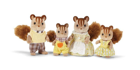 Calico Critters Hazelnut Chipmunk Family Playset - Chickadee Solutions - 1
