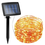Amir 150 LED Solar Powered String Light 2 Modes Steady on / Flash Indoor/Ou... - Chickadee Solutions - 1
