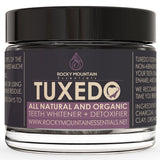 All Natural Charcoal Teeth Whitening 'Tuxedo' Tooth and Gum Powder By Rocky M... - Chickadee Solutions - 1