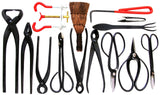 Stanwood Bonsai Tool 14-Piece Carbon Steel Shear Set and Tool Kit - Chickadee Solutions