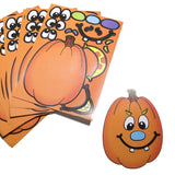 Make A Pumpkin Stickers (1 DOZEN) - BULK - Chickadee Solutions