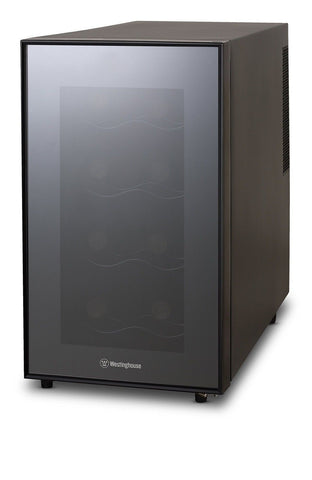 Westinghouse WWT080MB Thermal Electric 8 Bottle Wine Cellar Black 8 - Bottles - Chickadee Solutions - 1