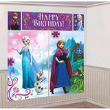 Disney Frozen Birthday Party Scene Setters Wall Decorating Kit (5 Pack) Multi... - Chickadee Solutions - 1