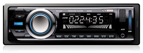 XO Vision XD103 Car Stereo Receiver with 20 watts x 4 and USB Port and SD Car... - Chickadee Solutions - 1