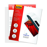 Fellowes Thermal Laminating Pouches ImageLast Letter Size 5 Mil 150 Pack (520... - Chickadee Solutions - 1