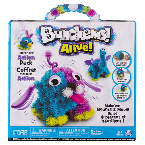 Bunchems Alive - Motorized Action Pack - Chickadee Solutions - 1