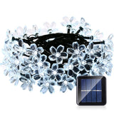 Qedertek Fairy Blossom Flower Solar String Lights 21ft 50 LED Christmas Light... - Chickadee Solutions - 1