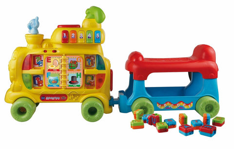 VTech Sit-to-Stand Alphabet Train - Chickadee Solutions - 1