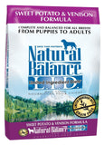Natural Balance L.I.D. Limited Ingredient Diets Sweet Potato & Venison Formul... - Chickadee Solutions - 1
