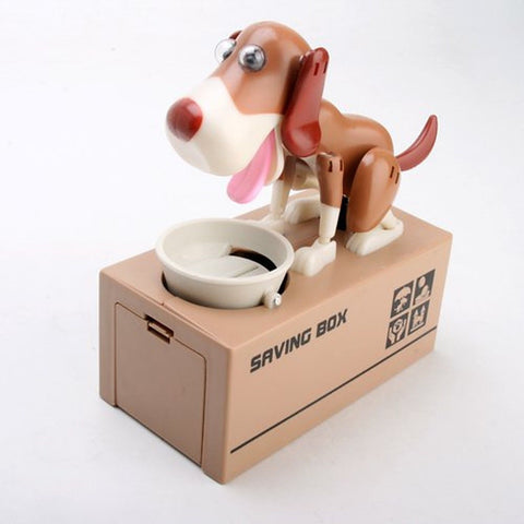 Liberty Imports My Dog Piggy Bank - Robotic Coin Munching Toy Money Box - Chickadee Solutions - 1