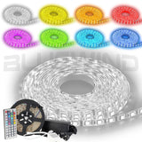 Blue Wind Led Strip Lighting 5M 16.4 Ft 5050 RGB 300leds Waterproof Flexible ... - Chickadee Solutions - 1