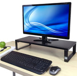 JUMBO Monitor Stand by Stand Steady - Desk Shelf with 4 Padded Feet - 4.75 in... - Chickadee Solutions - 1