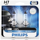 Philips H7 Vision Upgrade Headlight Bulb 2 Pack - Chickadee Solutions - 1