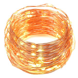 USB LED String LightsOak Leaf 2 Set of 60 LEDs Starry Lights Copper Wire for ... - Chickadee Solutions - 1