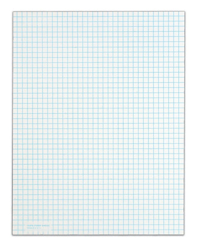 TOPS Quadrille Pad 8.5 x 11 Inches 15 Pound Stock 50 Sheets per Pad 6 Pads pe... - Chickadee Solutions - 1