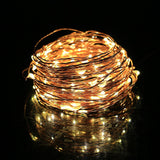 Homdox LED String Lights Copper Wire Fairy Starry String Lights Decorative Ro... - Chickadee Solutions - 1