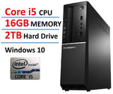2016 New Edition Lenovo Ideacentre High Performance Flagship Slim Desktop Int... - Chickadee Solutions - 1