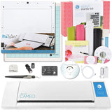 Silhouette CAMEO Vinyl Starter Kit Bundle with PixScan Cutting Mat White - Chickadee Solutions