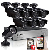 ZOSI 8 channel 960H HDMI CCTV DVR 1TB Hard Drive Pre-installed + 8 In/Outdoor... - Chickadee Solutions - 1