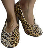 Geluxury Leopard Moisturizing Slippers (L) (GX203LEOPARDCAT) Large Leopard - Chickadee Solutions - 1