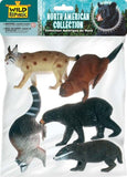 Polybag-North American Animal Collection 5 Pieces - Chickadee Solutions