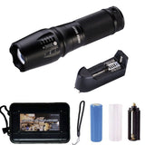 Handheld Led Flashlight of 1000 LumensCree Xml-T6 Water Resistant Camping Tor... - Chickadee Solutions - 1