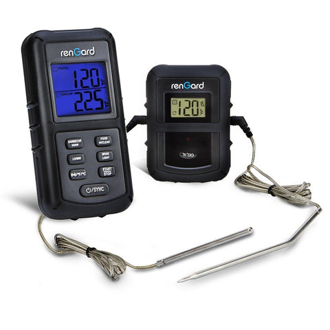 RenGard Dual Probe Digital Wireless Barbeque Cooking Thermometer RG-08 - Pers... - Chickadee Solutions - 1