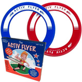 Best Kids Frisbee Rings [2 Pack] Fly Straight & Don't Hurt! Boys & Girls Love... - Chickadee Solutions - 1